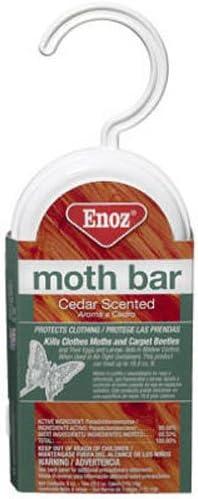 3 Ceder Scented Enoz Moth Bar
