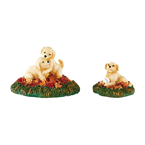 Department 56 Village Harvest Fields More Puppies Accessory Figurine, 1.5 inch