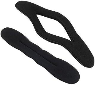 AILIN1 Esecuzione squisita 2 Pezzi Hair Styling Bigodino Twist Accessori Strumento Kit Donna Magic Sponge Hair Bun Maker Tool