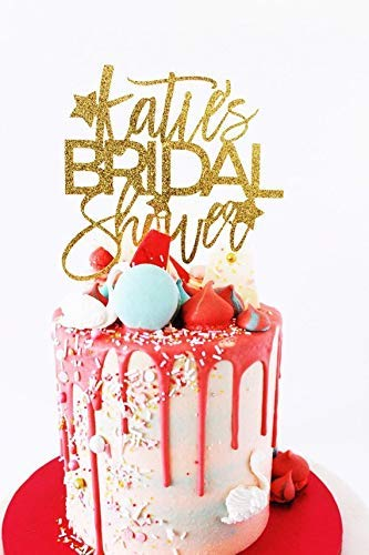 engagement party wedding Bride to be Gold Cake Topper future mrs she said yes