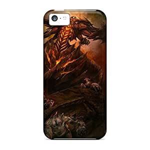 DLmqgnz7417ExzJP Case Cover Protector For Iphone 5c Diablo 3 Case by supermalls