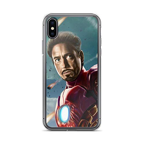 iPhone X/XS Shockproof Anti-Scratch Case Tony Ironman Stark Avengerss Superhero Stan-lee Movie Comic Sketch