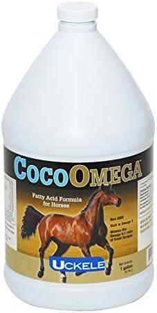 Uckele CocoOmega Oil, Fatty Acid Formula for Horses, Non-GMO, Soy Free, 1 Gallon