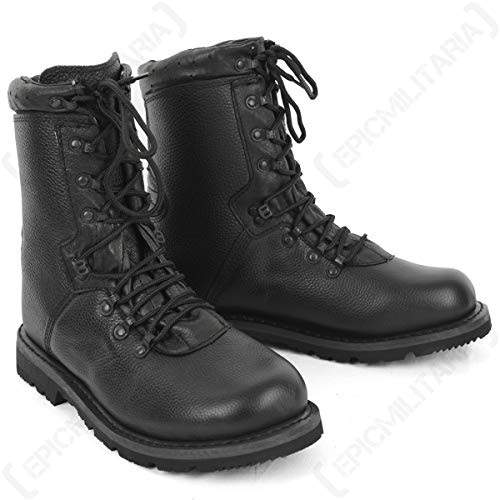 Mil-Tec BW German Army Combat Boots Type 2000 Black Size