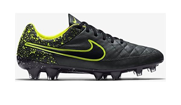 d8d34ed69ab Amazon.com  Nike Tiempo Legend V FG Men s Firm-Ground Soccer Cleat (8)  Anthracite Black  Toys   Games