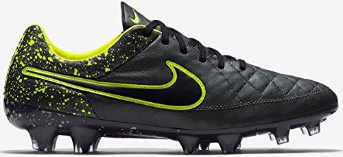 Nike Tiempo Legend V Fg, Men's Outdoor Multisport Training Shoes Anthracite/Black-volt