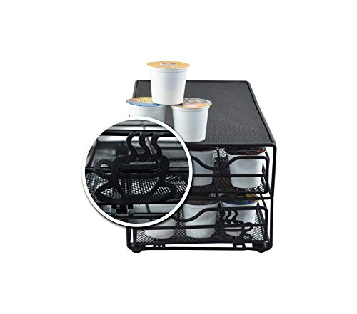 Home Décor Premium 36 Pod 2-Tier Storage Drawer Fits Keurig K-Cups. Storage Durable Strong Decorative by Home Décor (Image #2)