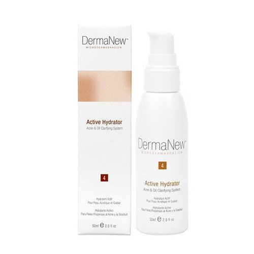 Active Oil-Free Hydrator for Acne & Oily Skin, Step 4, 2 oz. by DermaNew MicroDermabrasion