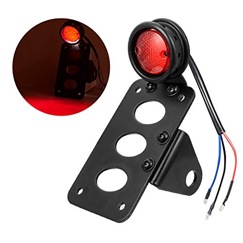 Amazicha Motorcycle LED Tail Brake Light 3/4