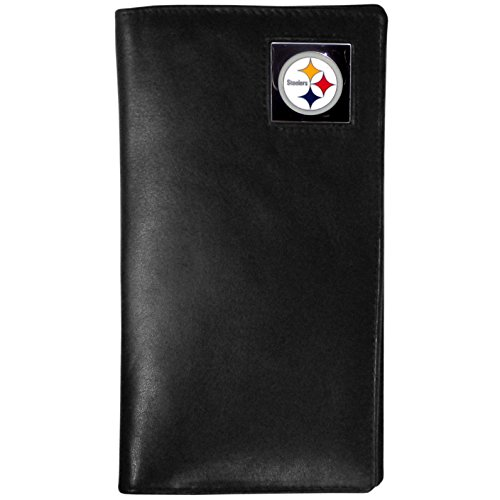 Siskiyou Gifts NFL Pittsburgh Steelers Tall Leather Wallet
