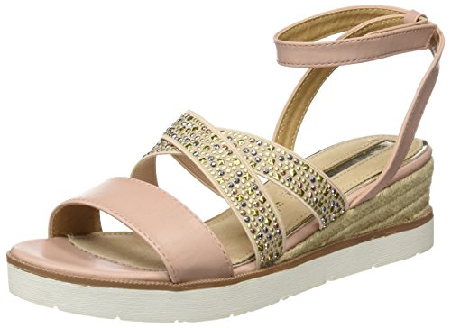 Maria Mare Women's Lomba Sling Back Sandals, Silver, Size Beige