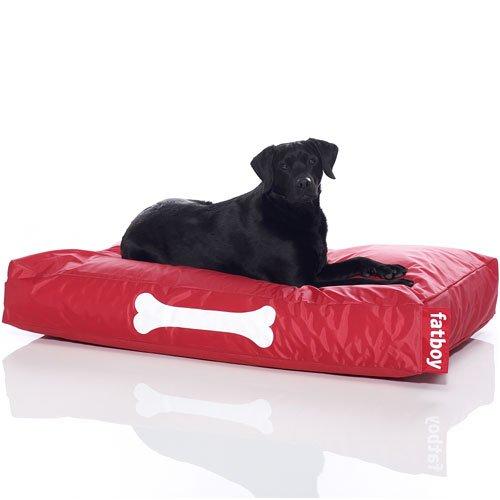 fatboy doggielounge big rot hundekissen original sitzsack f r den hund hundebett doggybag. Black Bedroom Furniture Sets. Home Design Ideas