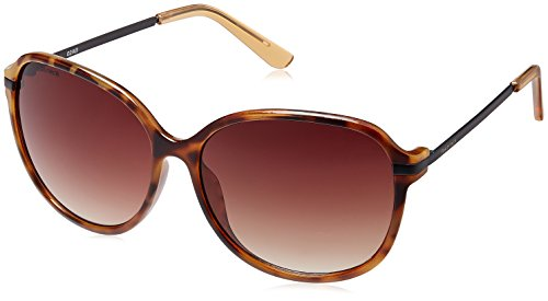 Fastrack Oversized Sunglasses (Brown) (P257BR2F)