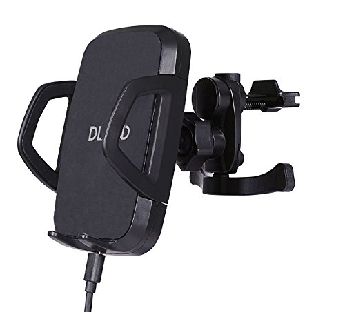DLAND Qi Wireless Car Charger with Triple-Coil Fast-Charging, Supporting Samsung Galaxy S6/S6 Edge, Google Nexus 5, LG G3/G2 and Qi-Enabled iPhone 6s/6 Plus/6/5s/5c/5 (Nexus 5 Module compare prices)