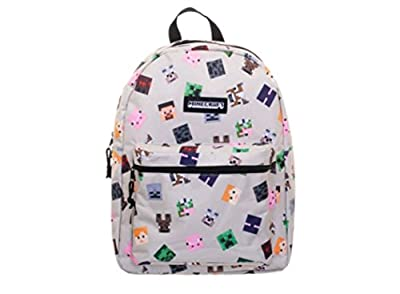 """Minecraft 16"""" Characters All-Over Print Backpack"""