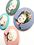 Golden Girls Gift Ceramic Coaster Set Coasters for