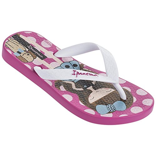 Raider Classic IV - Chanclas infantil, color rosa / blanco