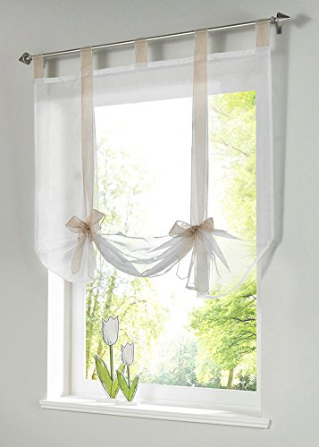 tab top kitchen curtains - 3