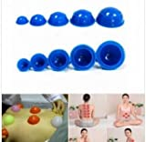 12Pcs Cups Rubber Massage Relaxation Suction Cupping Therapy Set by SiamsShop