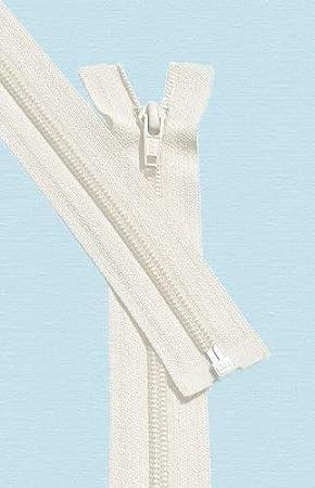 119 Lite Grey Pack of 1 Zipper 36 Light Weight Jacket Zipper ~ YKK #5 Nylon Coil Separating Zippers