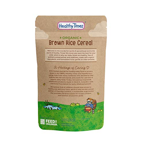 Buy baby rice cereal organic