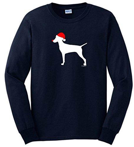 Grristmas Christmas Vizsla Sleeve T Shirt