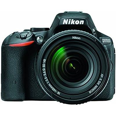 Nikon D5500 DX-format Digital SLR w/18-140mm VR Kit (Black)