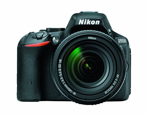 Nikon D5500 DX-format Digital SLR w 18-140mm VR Kit (Black)
