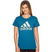 adidas Women's Badge of Sport Logo Tee