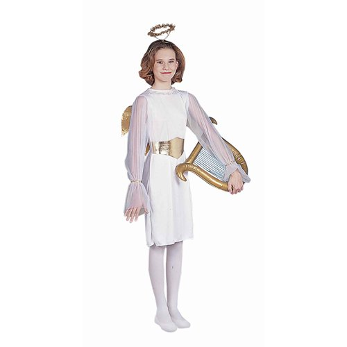 Angel Child Costume Size Small (Angel Costumes For Kids)