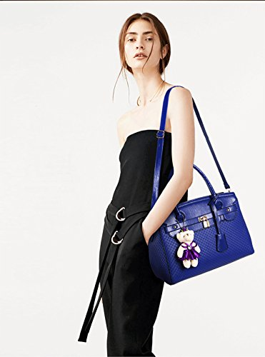 borsa da tre borsa a mano Blu a donna nuova moda borsa Sdinaz a 2018 pezzi femminile tracolla portafoglio ZXUSUq