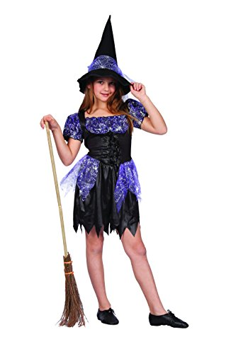 Size 28 Witch Costume (RG Costumes Sparkle Witch, Child Small/Size 4-6)