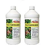 Alaska Fish Fertilizer 5-1-1 Concentrate 1 Quart - 2 Packs