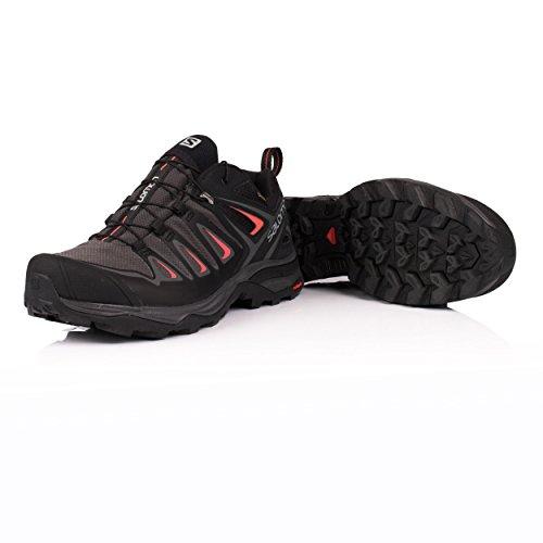 para Ultra W Senderismo Salomon de Negro Mujer X Zapatillas GTX 3 5I8IT