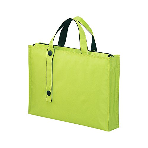 Lihit Lab Carrying Bag, Yellow Green, 11.8 x 15.7 Inches (A7651-6)