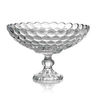 Fifth Avenue Crystal Arabella Compote Serving Bowls, 12-Inch (Tabletops Avenue compare prices)