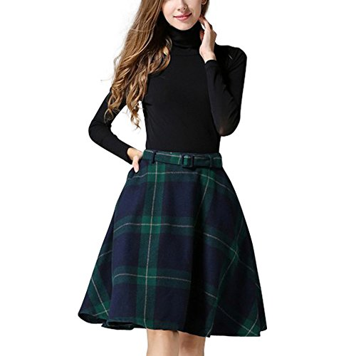 Flare Fully Lined Skirt - 2