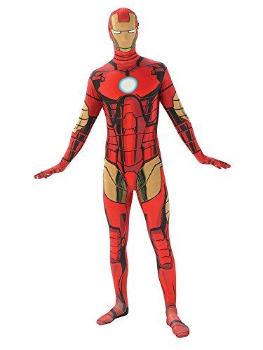 Rubie's Men's Marvel Universe Iron Man Adult 2nd Skin Costume, Multi, Large