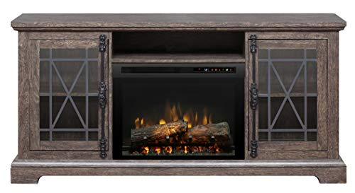 Cheap DIMPLEX Natalie Media Console Electric Fireplace with Logs Black Friday & Cyber Monday 2019