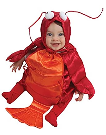 amazon com am pm kids baby s lobster costume red orange one size