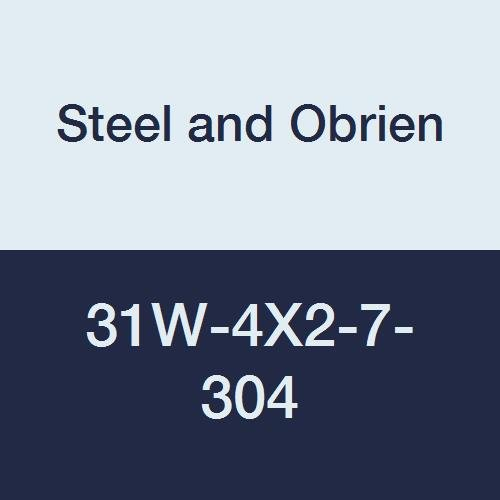 Steel and Obrien 31W-4X2-7-304 Stainless Steel 31W Concentric Reducer 4 x 2 4 x 2
