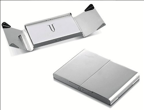 (Visol V901B Ankora Silver Plated Business Card Case by Visol )