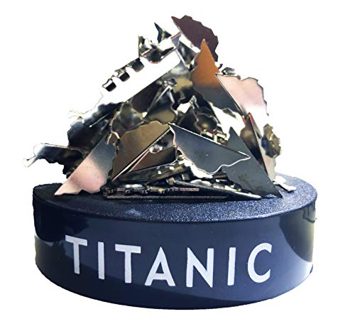 Universal Specialties Titanic Stress Relief Desk Toy, Desk Magnetic Sculpture Fidget Toy for Anxiety and Autism Magnetic Toy