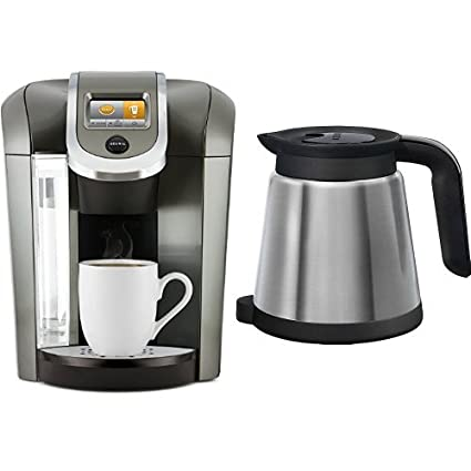 Amazoncom Keurig K575 Coffee Maker Platinum And Keurig 119352 20