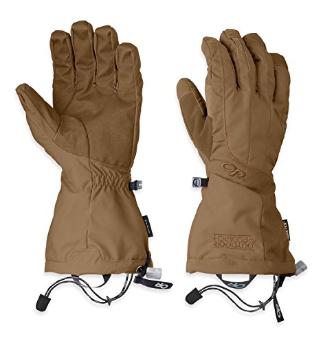 Outdoor Research Men's Arete Gloves, Coyote, Medium