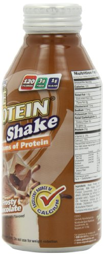 Pure Protein, Frosty Chocolate, 23 Gram, 4 - 12 oz Bottles