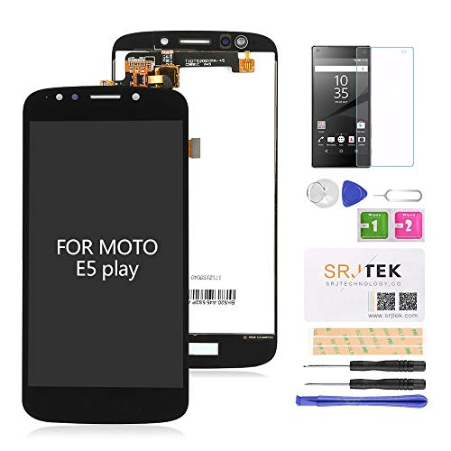 for Moto E5 Play Screen Replacement-LCD Digitizer Touch Glass Assembly Fit Motorola Moto E5 Play XT1921-1 XT1921-2 XT1921-3 XT1921-5 XT1921-6 XT1921-7 / Moto E5 Cruise 5.2