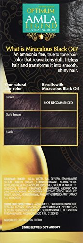 Optimum Care Amla Legend Miraculous Oil Dull Defying Hair Color Natural Dark Brown