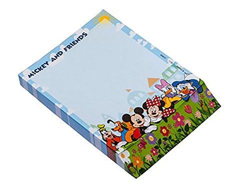 Disney Classic Mickey Mouse & Friends Note Pad / - Tinkerbell Stationary