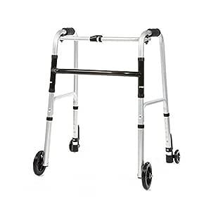 Easy] andador para adultos mayores EW40 fácilmente plegable cuatro ...